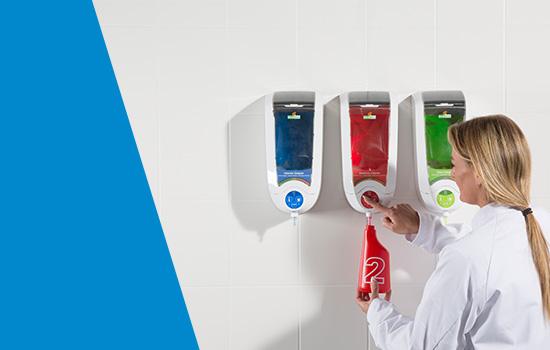 Ecodos: prodotti professionali, ecologici con sistema a dispenser dedicato
